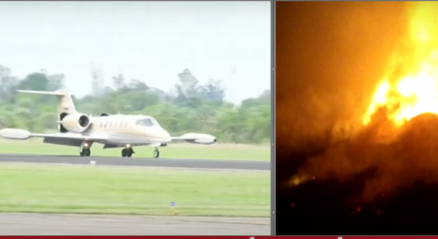 Avión sanitario se estrella en sur de Argentina y mueren dos personas