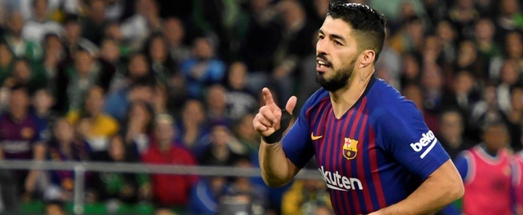 Luis Suárez, baja entre 10 y 15 días, y no irá a la China Cup