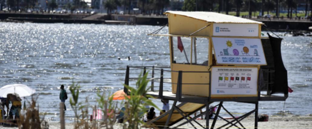 Este fin de semana no habrá guardavidas en las playas de Montevideo