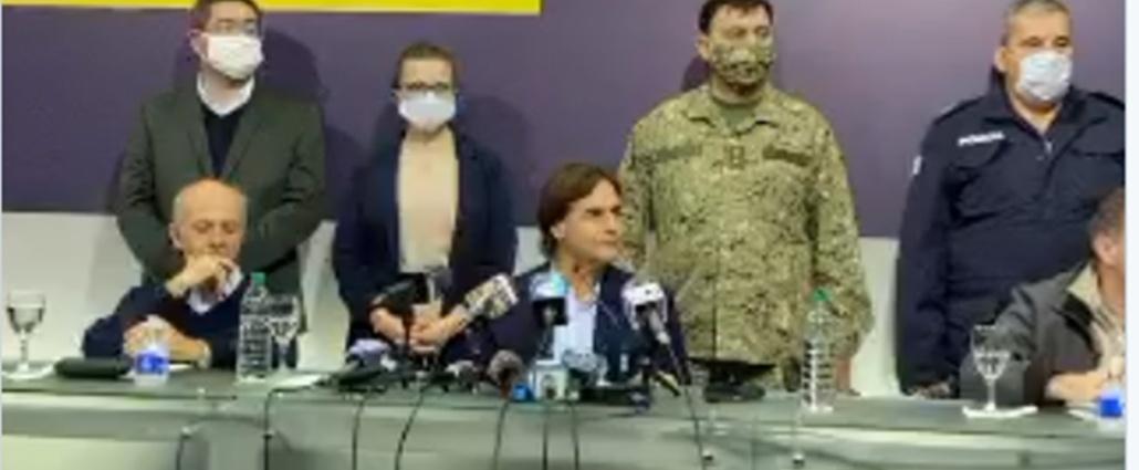 El gobierno anunció medidas para Rivera, ante casos de coronavirus