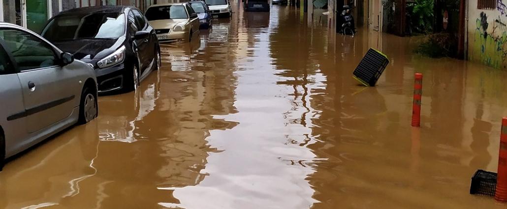 El ciclón mediterráneo Ianós deja un muerto y dos desaparecidos en Grecia